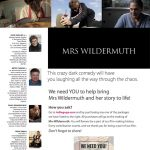 "Indiegogo campaign for new feature film, ""Mrs. Wildermuth"" launches."